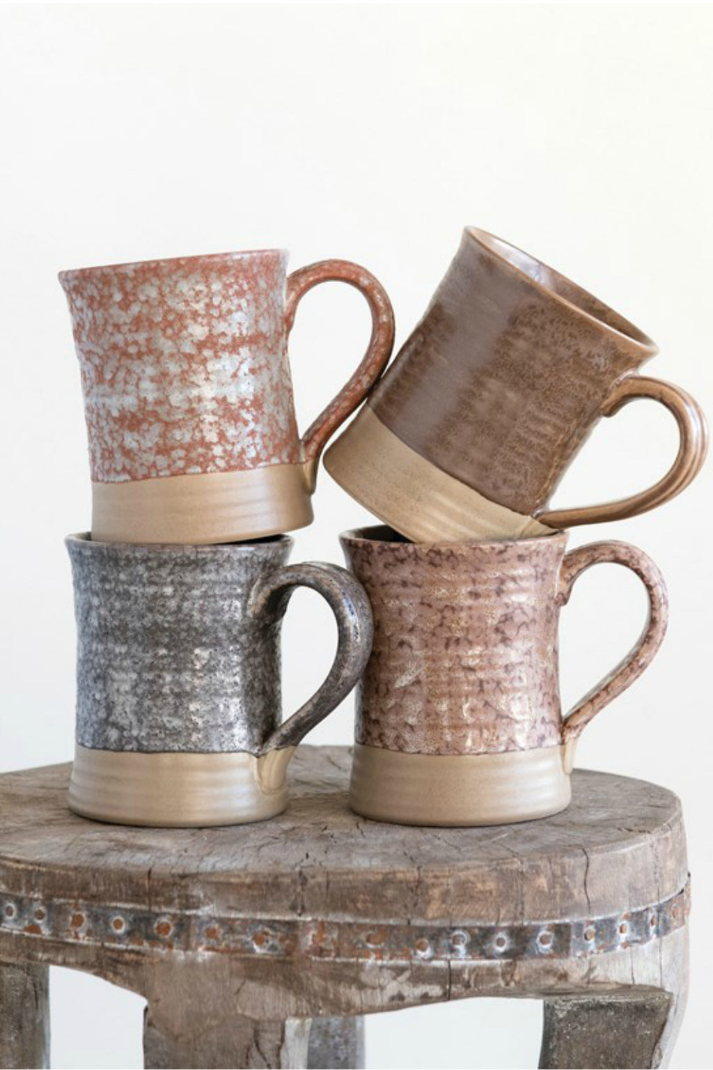 Creative Co-op Reactive Glaze Stoneware Mug