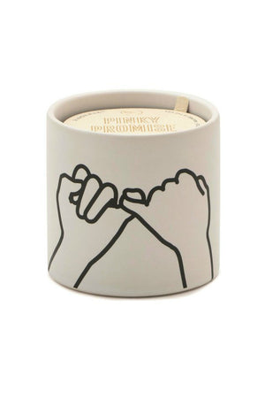 Impressions Pinky Promise Candle, Wild Fig + Cedar 5.75oz