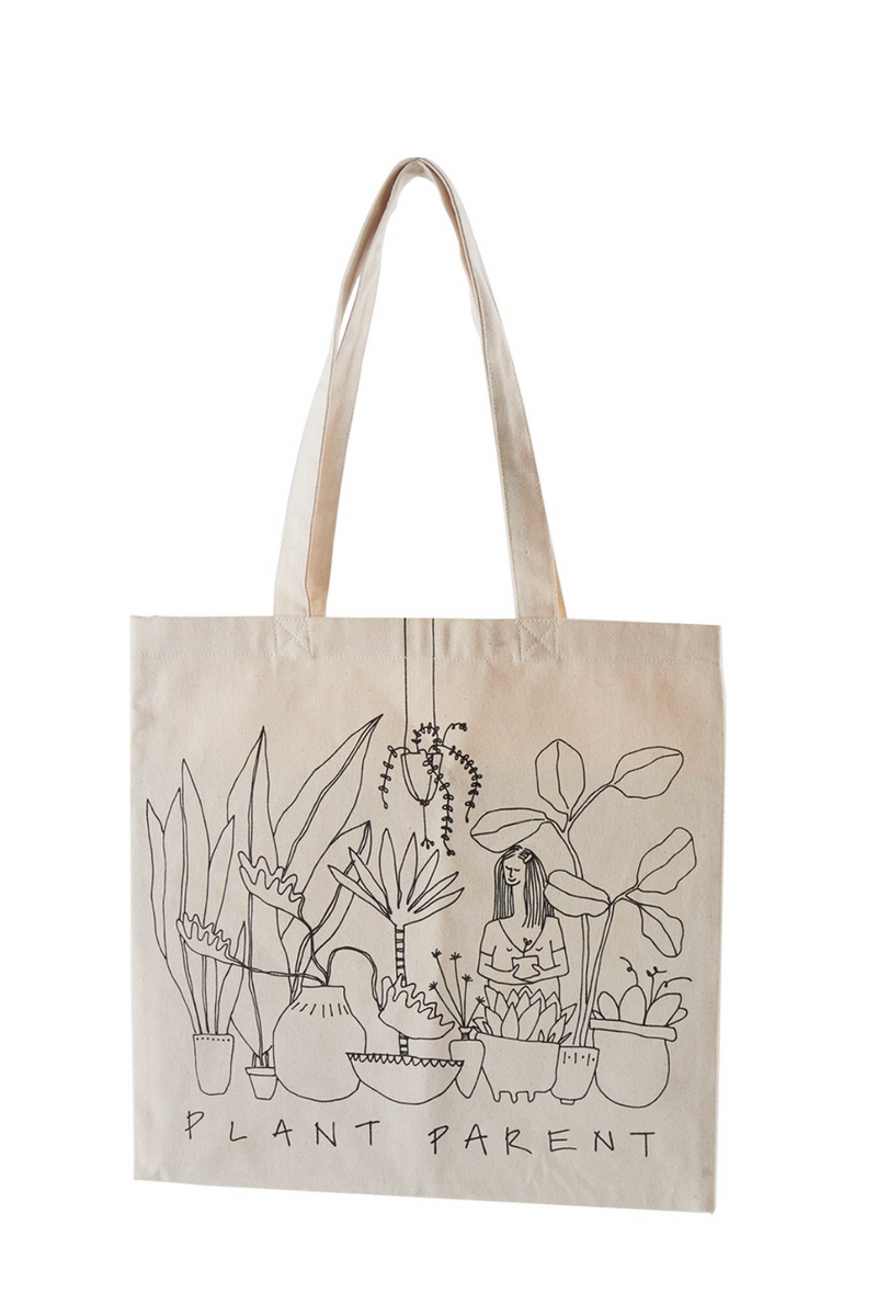 Accent Decor Plant Parent Tote Bag