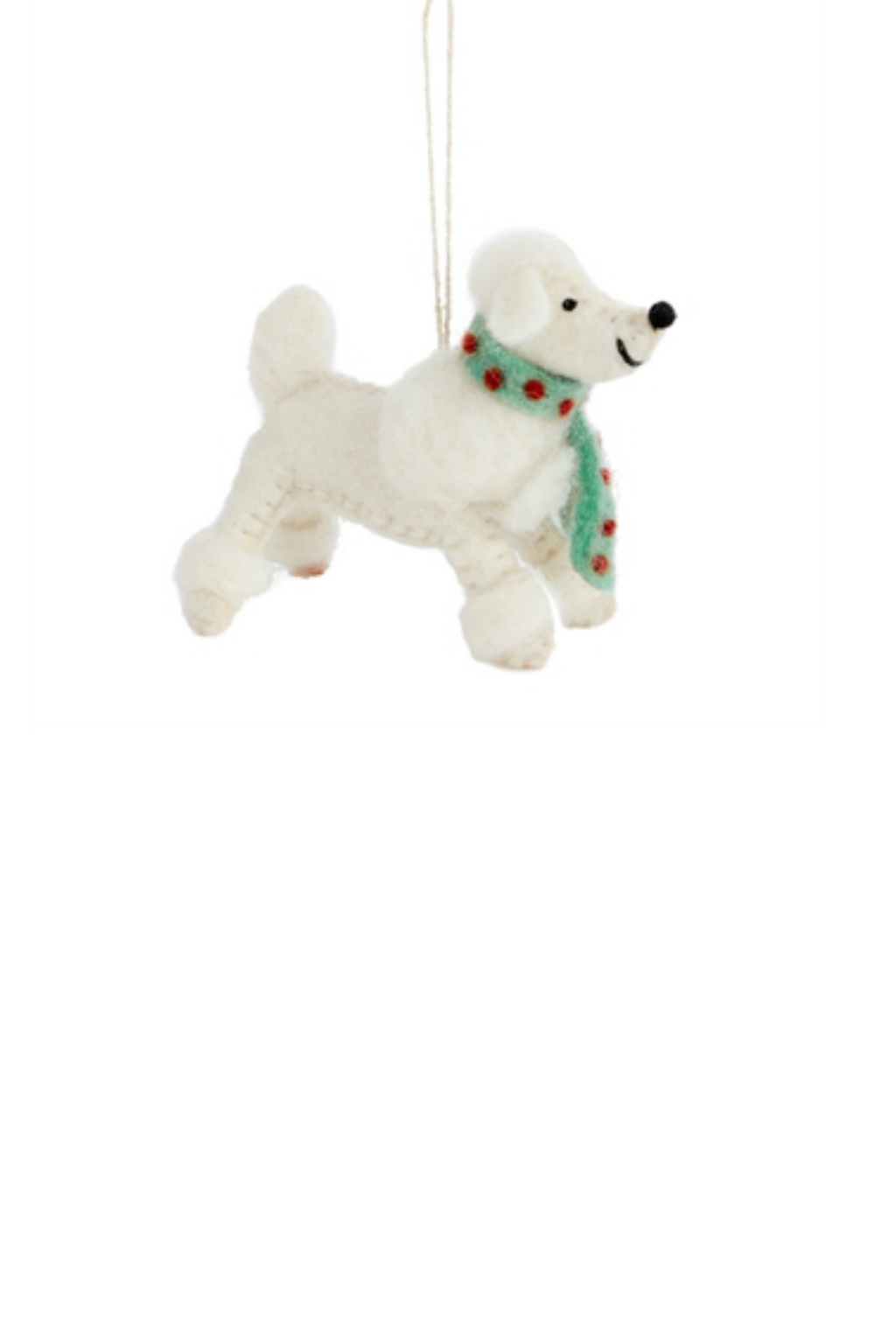 Accent Decor Fido Poodle Ornament