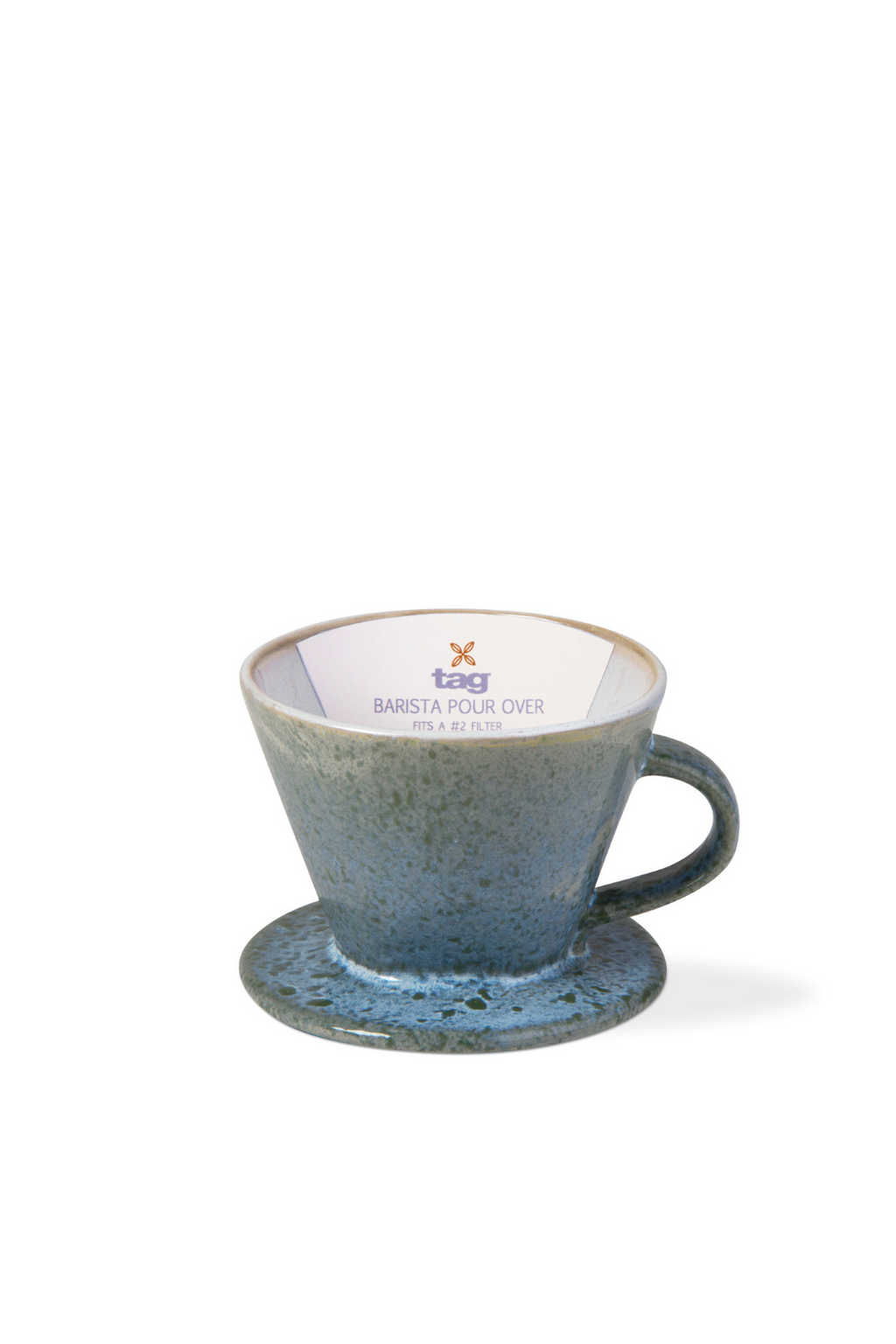 TAG Blue Glazed Stoneware Pour-Over