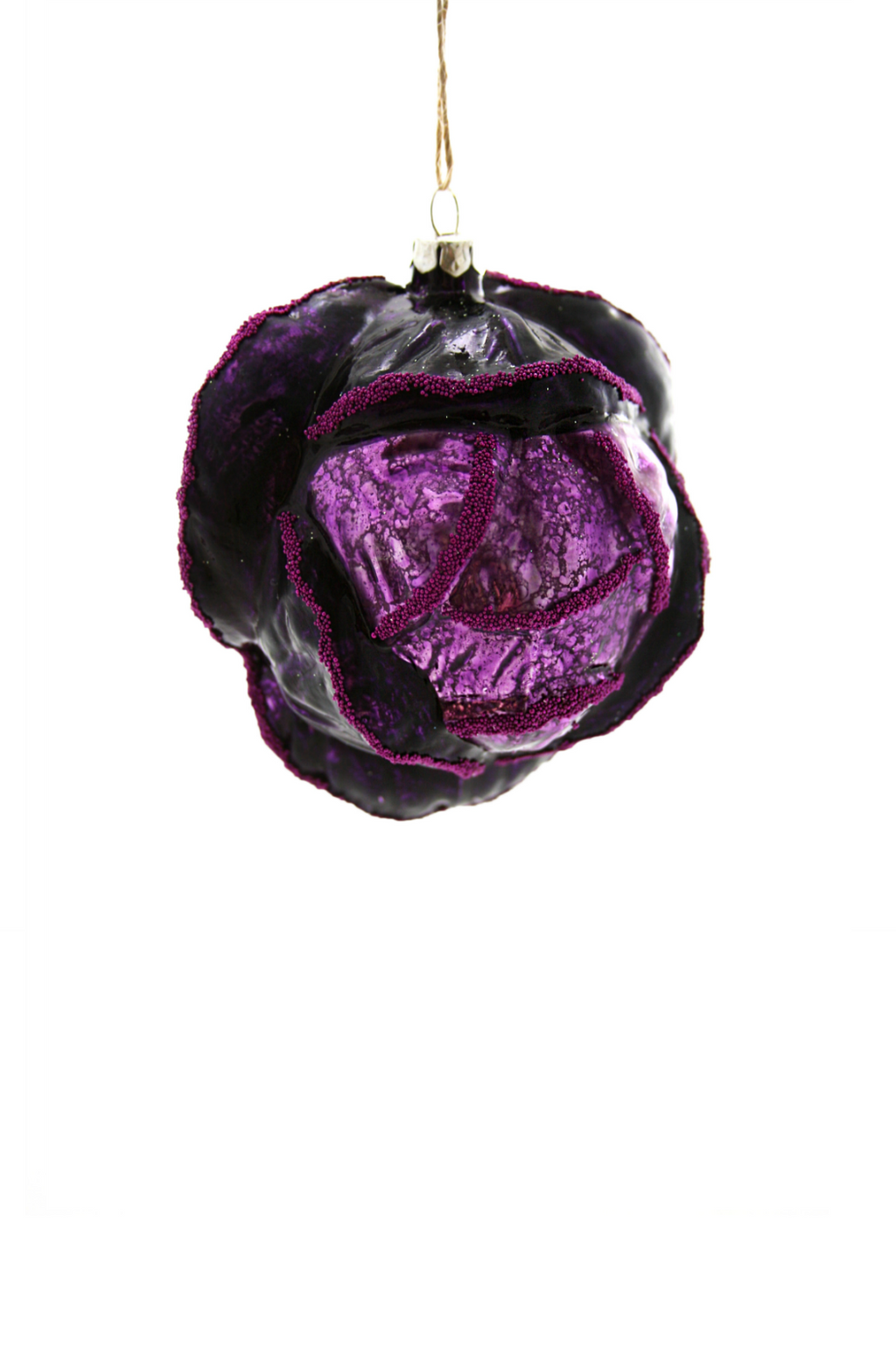 Cody Foster Purple Cabbage Ornament