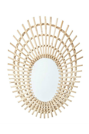 Bloomingville Rattan Wall Mirror