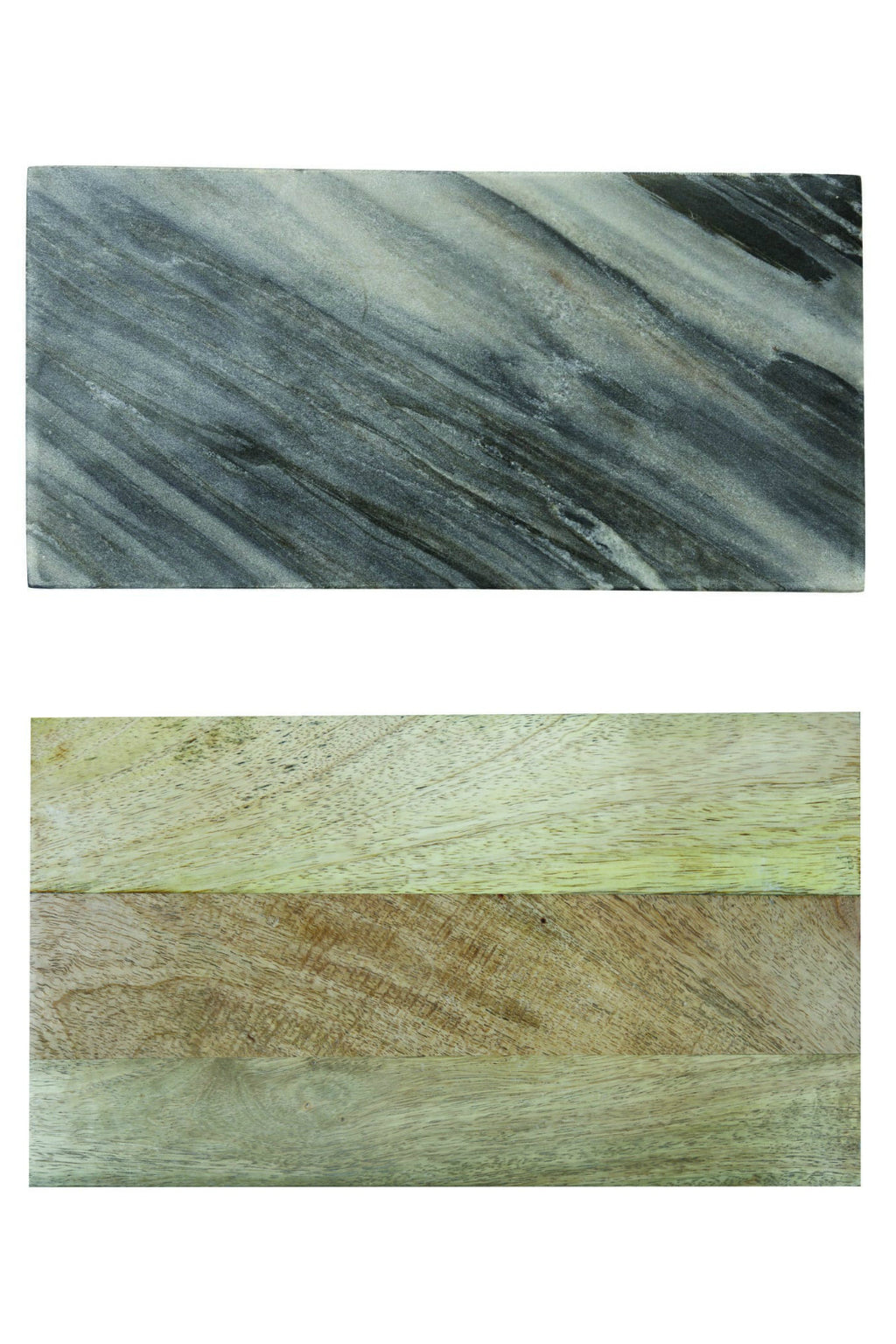 Be Home Grey Marble + Wood Reversible Board