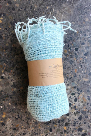 Rubyzaar Organic Cotton Scarf Turquoise
