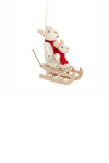 Accent Decor Squeaky Sleigh Ornament