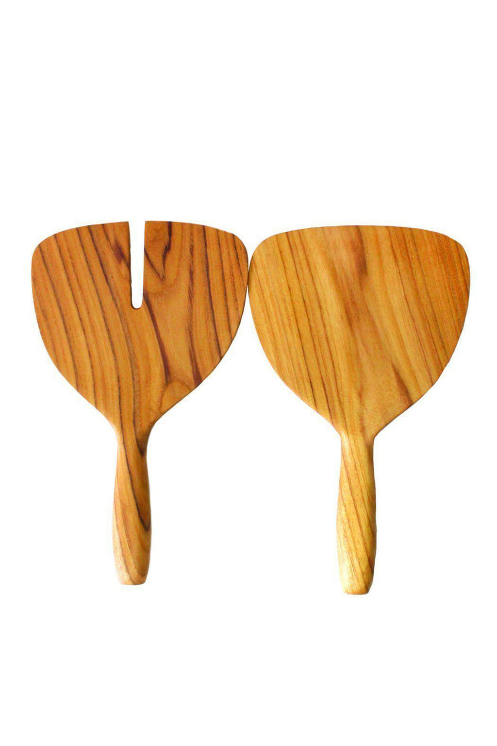 BeHome Teak Wide Serving Set