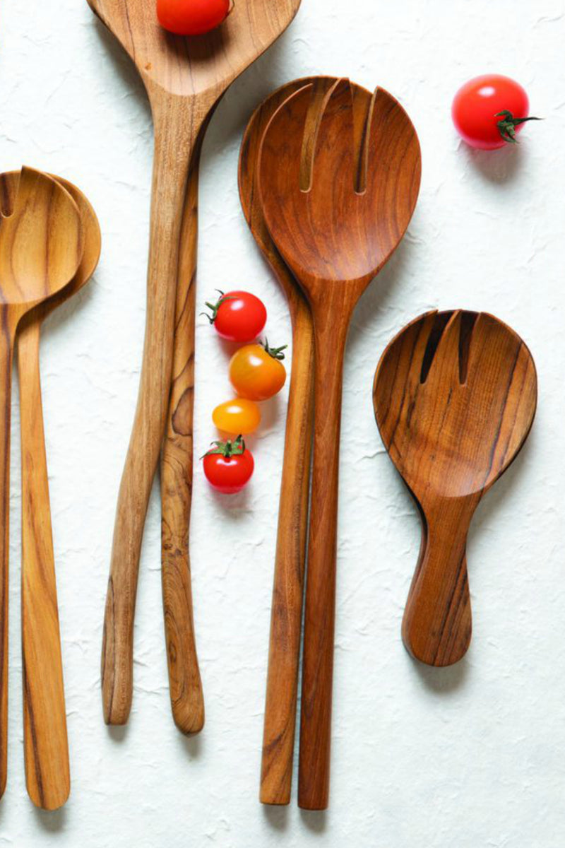 Be Home Teak Serving Set