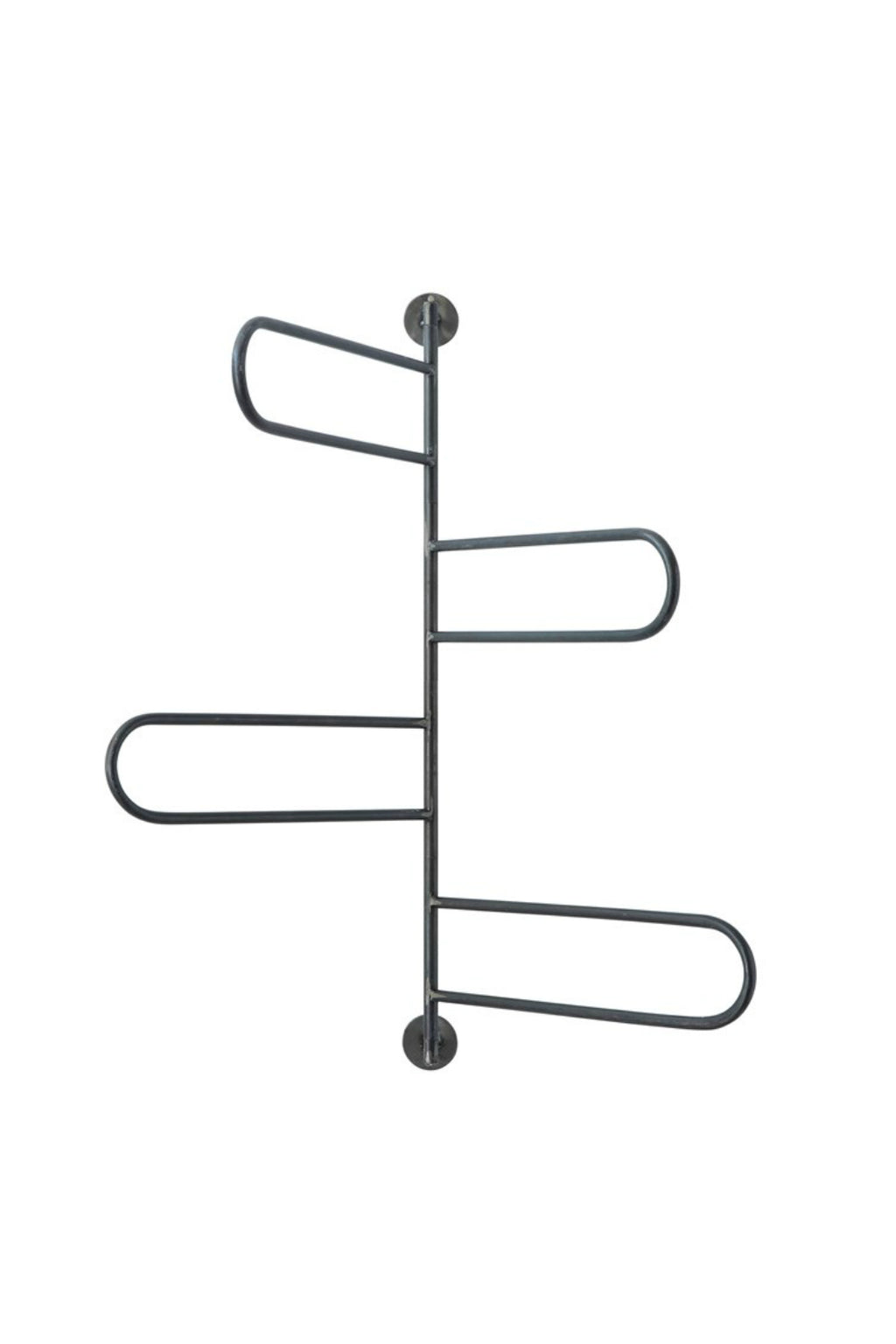 Metal Swivel Wall Rack