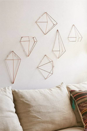 Keena Umbra Prisma Wall Decor in Copper