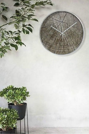 EcoVibe Style - Cloudnola Structured Wood Wall Clock