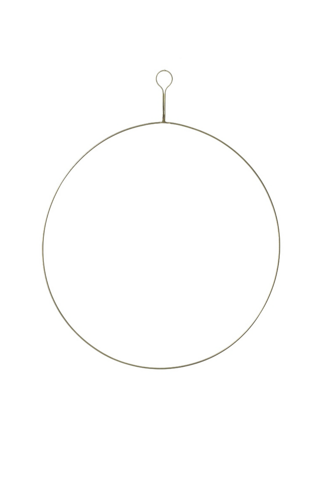 Accent Decor Brass Wreath