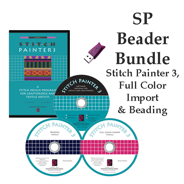 Stitch Painter Beader's Bundle, Mac
