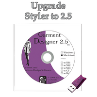 GD upgrade Styler to 2.5 Mac