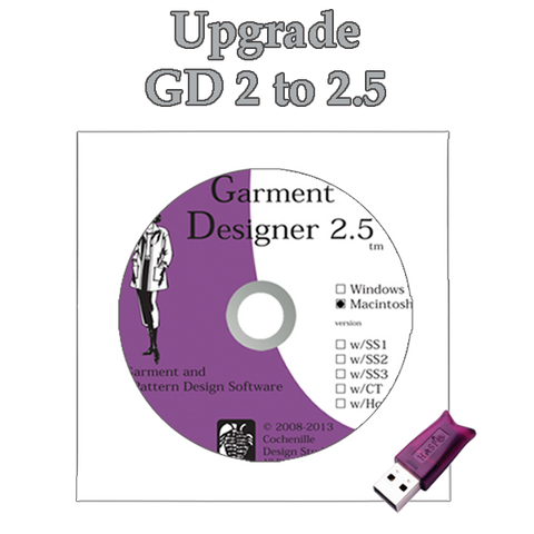 GD upgrade 2.0 to 2.5, Mac
