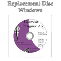 Garment Designer Replacement Disc for Windows