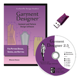 Garment Designer Software 2.5, SS1&2 Mac