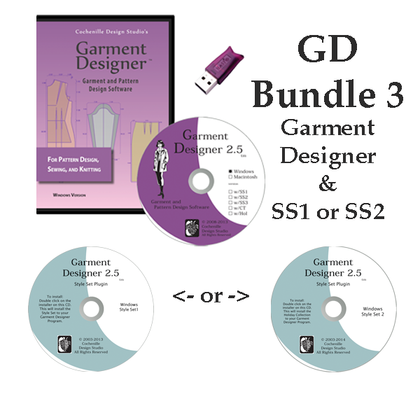 GD Bundle 3 Win 2.5 Style Set 1 or Style Set 2