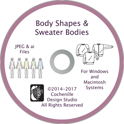 Body Shapes & Sweater Bodies Art Disc