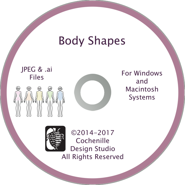 Body Shapes Art (Digital Download)
