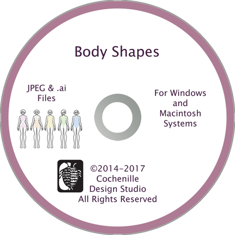 Body Shapes Art Disc (Digital Download)