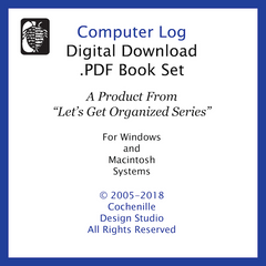 Computer Log (Digital Download)