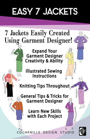 Easy 7 Jackets Book (Digital Download PDF)