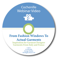 Webinar Video - From Fashion Windows To Actual Garments (Digital Download)