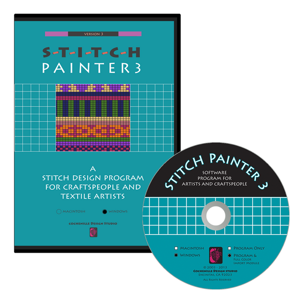 Stitch Painter 3 Gold (Windows) with Full Color Import- Digital Download