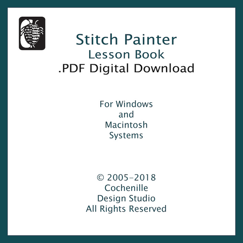 Stitch Painter Lesson Book (Digital Download)