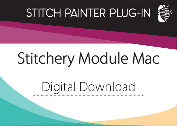 Stitch Painter Stitchery Plug-In, Mac (Digital Download)