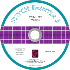 Stitch Painter Stitchery Plug-In, Win (Digital Download)