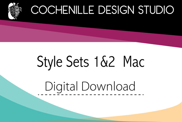 Digital Download of Style Sets 1&2, Mac