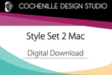 Style Set 2, Mac (Digital Download)