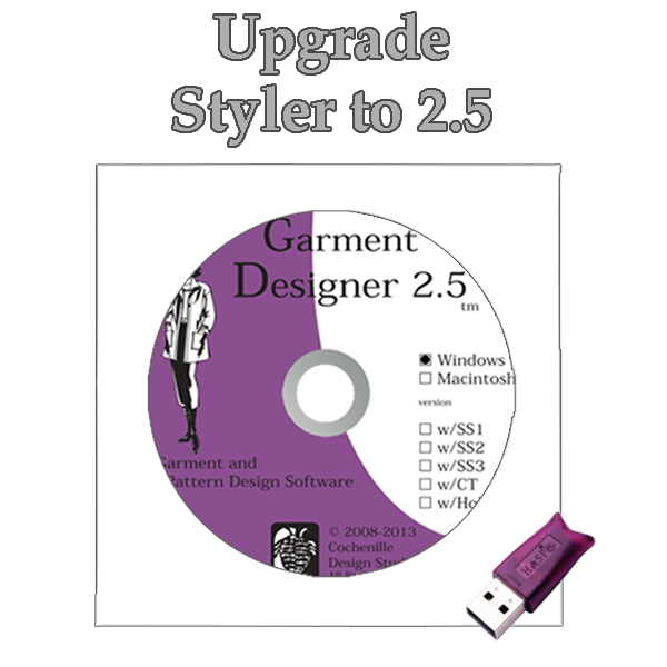 GD upgrade Styler to 2.5 Win
