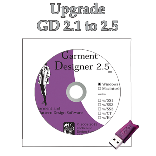 GD upgrade 2.1 to 2.5, Win