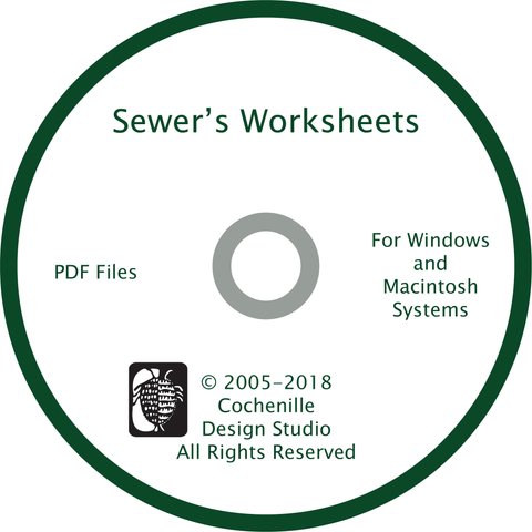 Sewer's Worksheets DVD