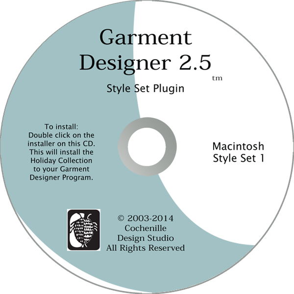 Style Set 1, Mac (Digital Download)