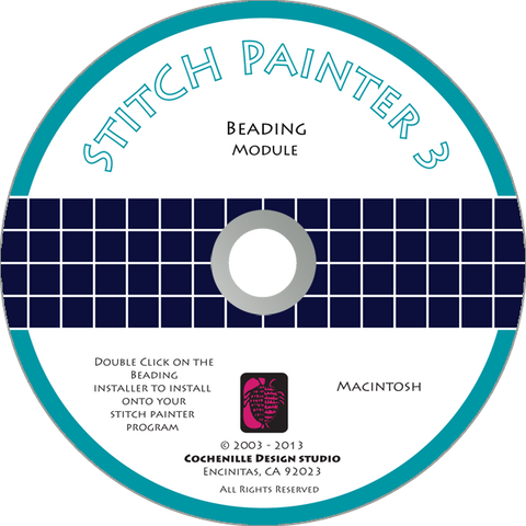 Stitch Painter Beading Plug-In, Mac
