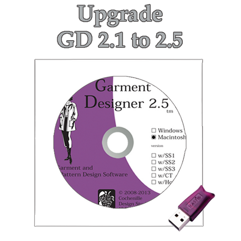 GD upgrade 2.1 to 2.5, Mac