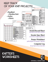 Knitter's Worksheets DVD