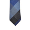 Knotz Tie, Navy and blue plaid tie. Can be paired with any navy or grey suit.
