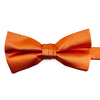 Orange bow-tie from knotz, for wedding suits and tuxedos.