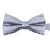 A silver grey bow-tie from Knotz, great with wedding suits and tuxedos.