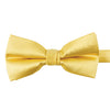 A yellow bow-tie from Knotz, great with wedding suits and tuxedos.