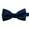 A navy blue bow-tie from Knotz, great with wedding suits and tuxedos.