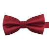 A red bow-tie from Knotz, great with wedding suits and tuxedos.