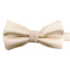 An ecru bow-tie from Knotz, great with wedding suits and tuxedos.