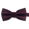 A wine/purple bow-tie from Knotz, great with wedding suits and tuxedos.