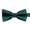 A dark emerald bow-tie from Knotz, great with wedding suits and tuxedos.